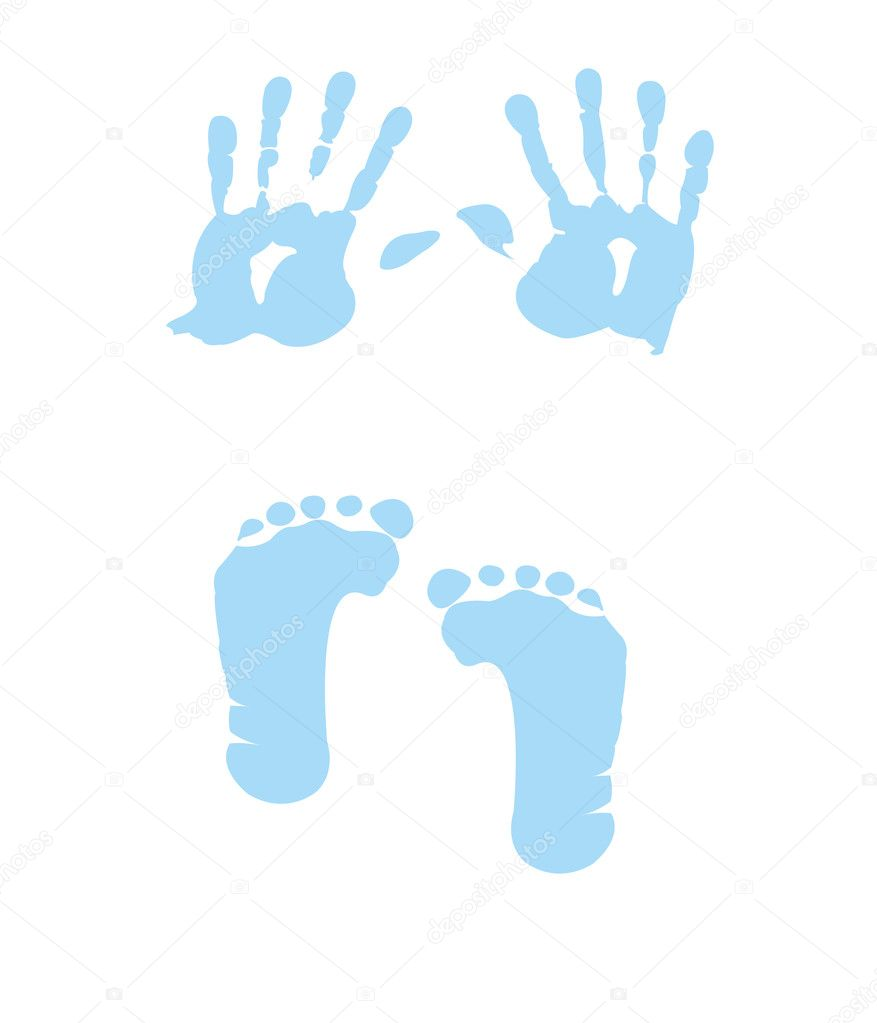 Baby Feet Icon ... Free Baby Related Clipart