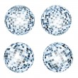 Disco balls — Stock Vector