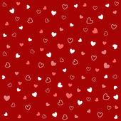 Patrones sin fisuras con corazones — Vector de stock