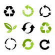 Stock Vector: Environmental icons
