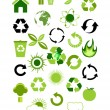 Environmental icons — Stock Vector