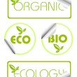 Ecology stickers — Stock Vector #10377264