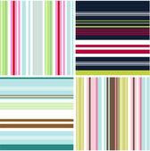 Bezešvé vzory s texturou tkaniny — Stock vektor