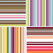 Naadloze patronen met stof textuur — Stockvector