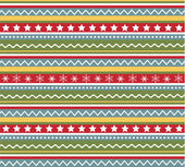 Seamless patterns with fabric texture, christmas texture — 图库矢量图片