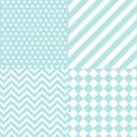 Seamless baby boy pattern, wallpaper — Stock Vector