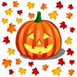 Royalty-Free Stock Obraz wektorowy: Pumpkin