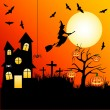 Halloween — Vector de stock #9620848