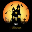 Halloween — Vector de stock #9620862