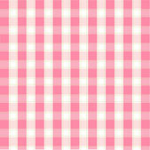 Seamless pink plaid pattern — Stock Vector