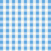 Seamless blue plaid pattern — Stock vektor