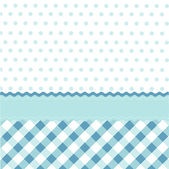 Seamless baby blue pattern, wallpaper — Stock Vector
