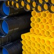 Stock Photo: Plastic pipes