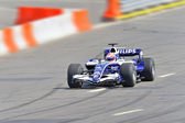 Racing bolide of Formula-1 team AT&T Williams — Stock Photo