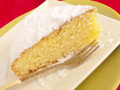 菊花蛋糕 — 图库照片