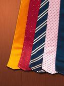 Ties set — Stock Photo