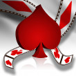 Poker 3D — Stock Photo