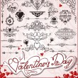 Happy Valentines Day - Stock Vector