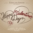 Happy valentine&#039;s day - Stock Vector