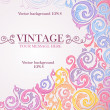 Colorful vintage background. — Stok Vektör #9446592