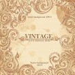 Vintage background pattern. — Vettoriali Stock