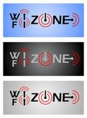 Zone wi-fi. — Vecteur