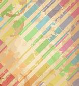 色の縞模様の背景. — ストックベクタ