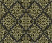 Wallpaper: gold on black — Stock Vector