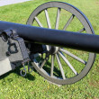 Stock Photo: Gettysburg cannon closeup