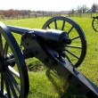 Stock Photo: Gettysburg cannons