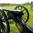 Gettysburg cannons — Stock Photo