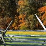 Gettysburg fence — Stock Photo