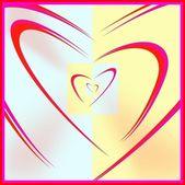 Encased hearts — Stock Photo