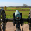 Stock Photo: Gettysburg cannon
