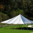Stock Photo: White canopy tent