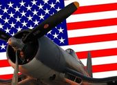 Corsair aircraft — Stock Photo