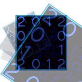 символ 2012 года — Стоковое фото