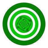 Przyszłość jest... zielony! — Zdjęcie stockowe