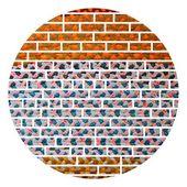 Teppich-ziegel — Stockfoto