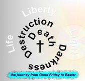 The easter journey — Stock Photo