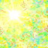 Sunshine abstract — Stock Photo