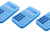 Calculators isolated — Stock Photo