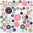 Various sewing button — Stock Photo #10198773