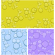 Stock Vector: Bubble Background