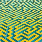 3D maze — Stock Vector #9587878