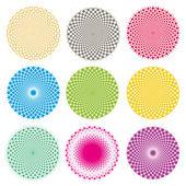 Optical illusion (Vector EPS) — Stock Vector