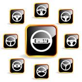 ícone do volante — Vetorial Stock