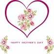 Mother's day background — Stock vektor