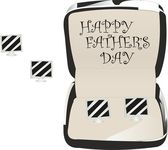 Happy father's day — Stockvektor