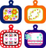 Kitchen accessories — Stock Vector